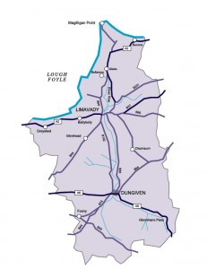 Limavady Map