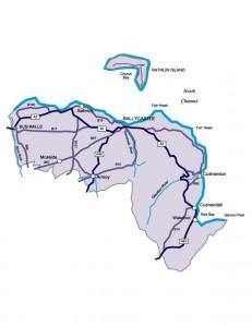 Moyle Map