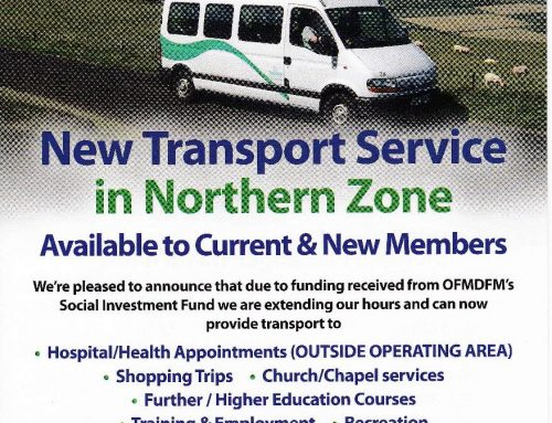 Social Investment Fund – New Transport Service